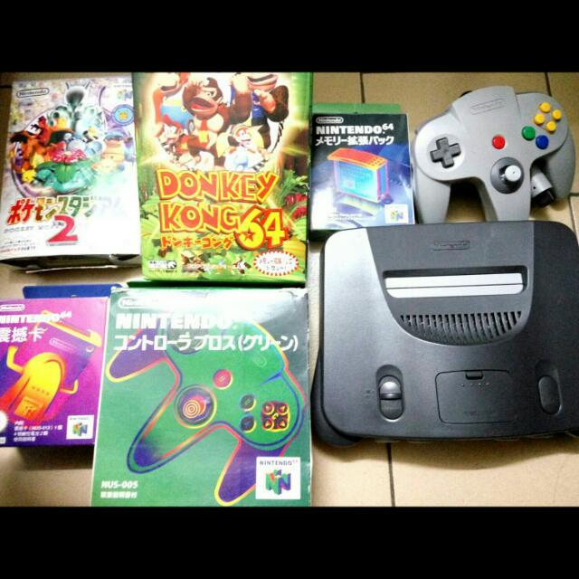 任天堂 n64  圖片全部一套賣 寶可夢