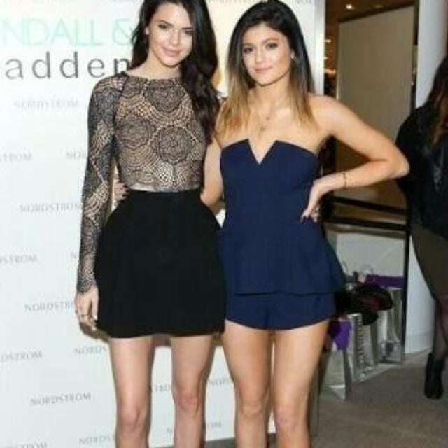 AS SEEN ON KYLIE JENNER Finder Keepers Rise And Fall Playsuit