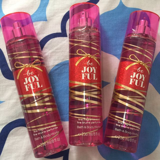 """Be Joyful"" Bath & Body Works (BBW) Fine Fragrance Mist"