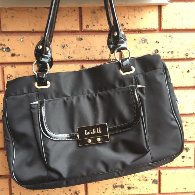 Black Huge Handbag