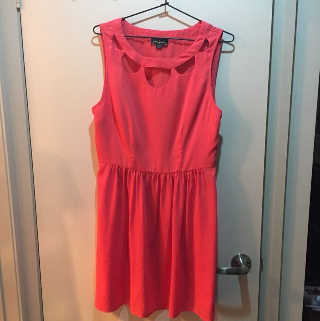 Blue juice Coral Dress Size 12