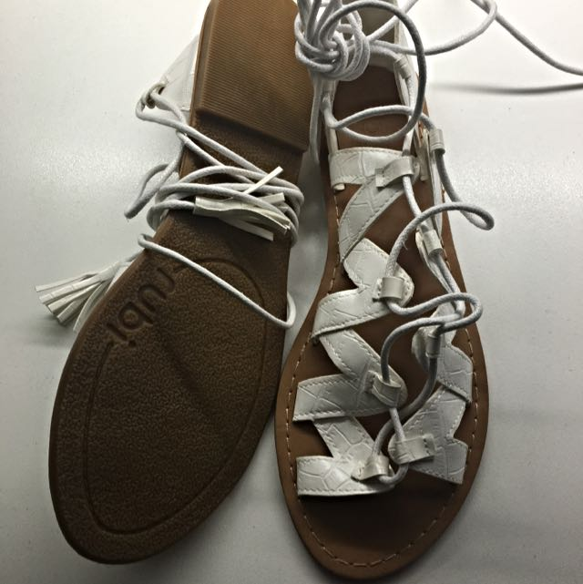 Brand New Tie Up Sandals