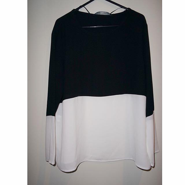 B&W Shirt BNWT