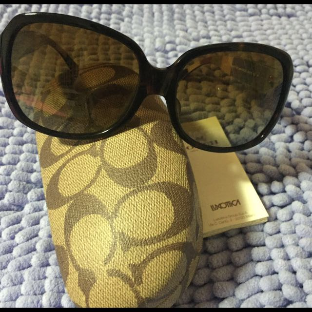 d00e3152f60c ... inexpensive coach hc8043 l037 bridget sunglasses 5210t5 dk tort dk tort  legacy stripe brown gradient polarized