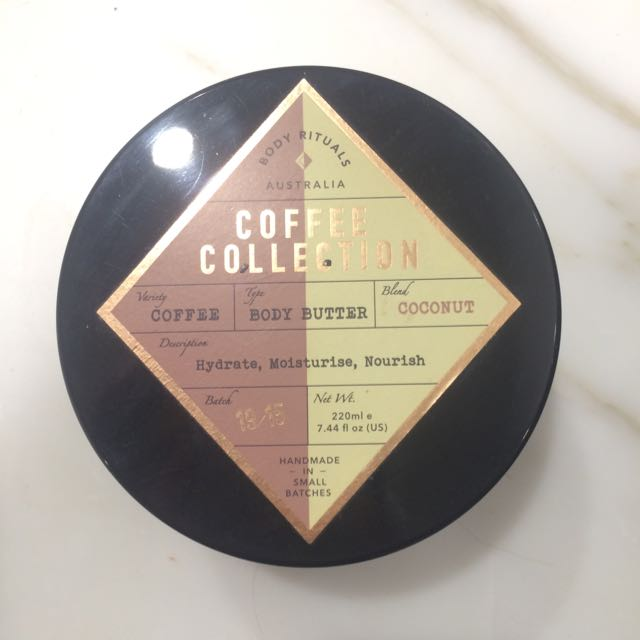 Coffee Collection Body Butter