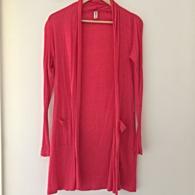 Cotton On Body Pink Long Cardigan