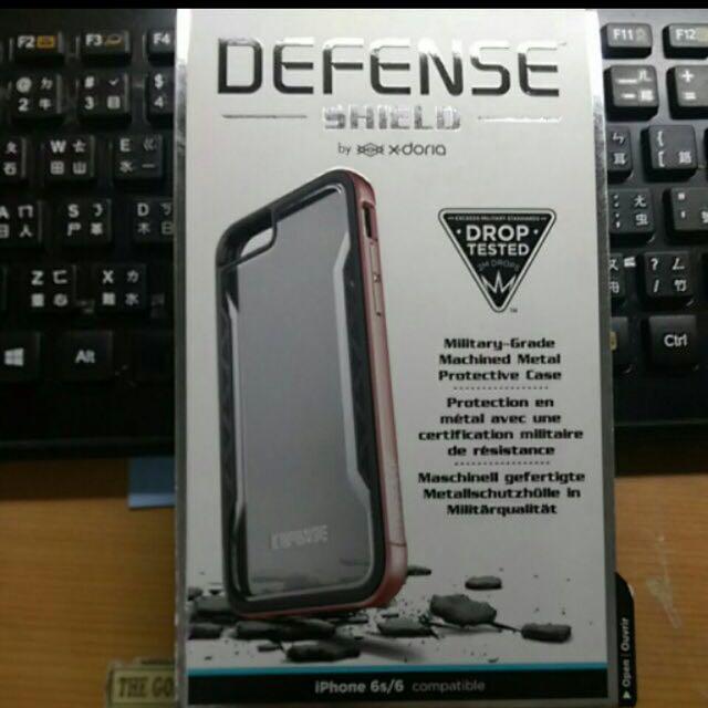 DEFENSE玫瑰金邊框(iphone6/6s)