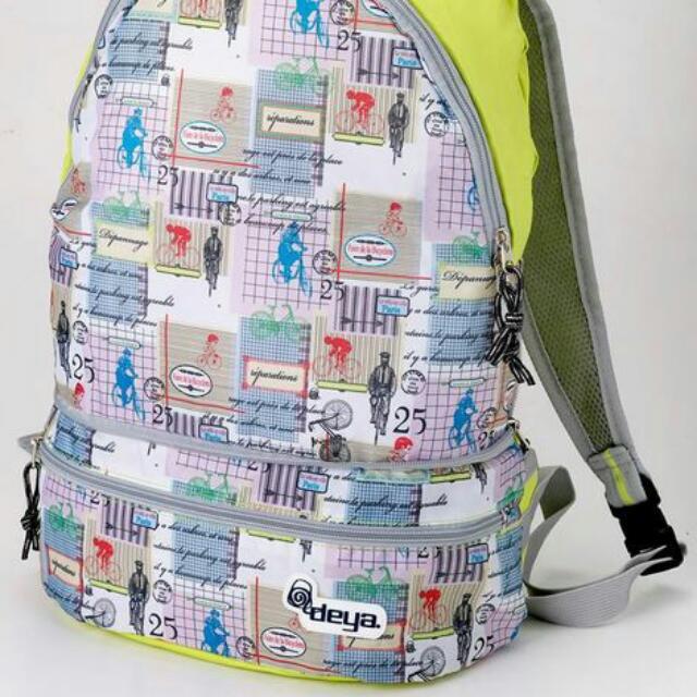 Deya 無痕行動摺疊包 包 後背 腰包