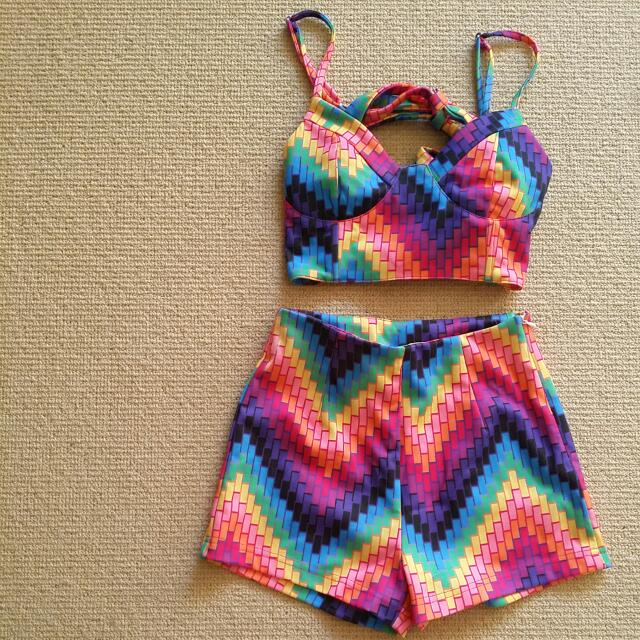 Everland Clothing Short And Crop Set