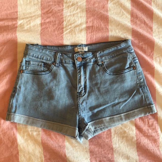 Forever21 牛仔短褲