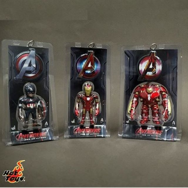 Hot Toys Tuoma Keychain Key Chain Iron Man Captain America Hulkbuster