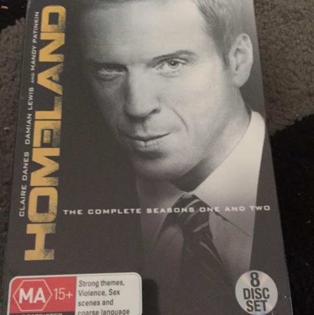 Homeland DVD Set - Complete Season 1 & 2