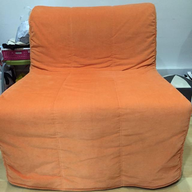 Ikea Lycksele Sofa Bed Single Furniture On Carousell