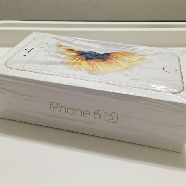 iPhone6S 金色 64G
