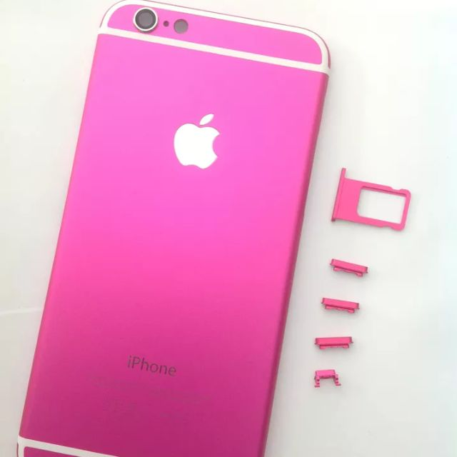 new product 7db04 af9f3 iPhone 6/6+/6s/6s+ Pink/White Matte Housing, Luxury on Carousell