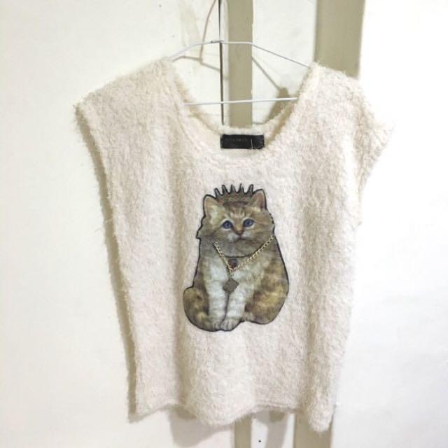 kakamee貓咪背心上衣
