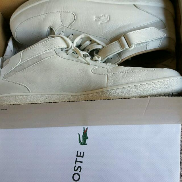 Lacoste Turbo 2 Off White Shoes