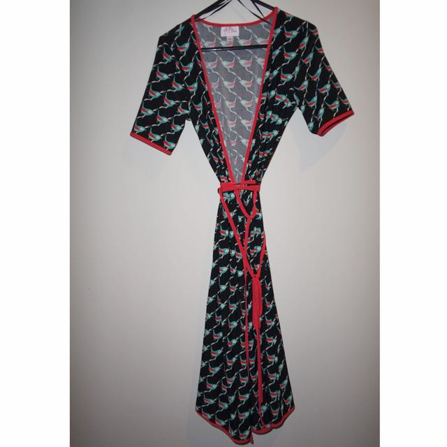 Leona Ruby Dress-kimono