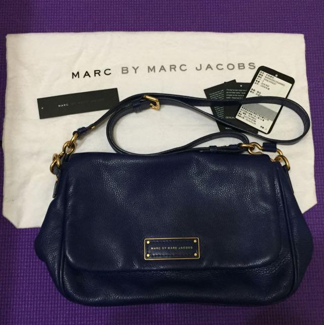 Marc By Marc Jacobs 深藍色側背包