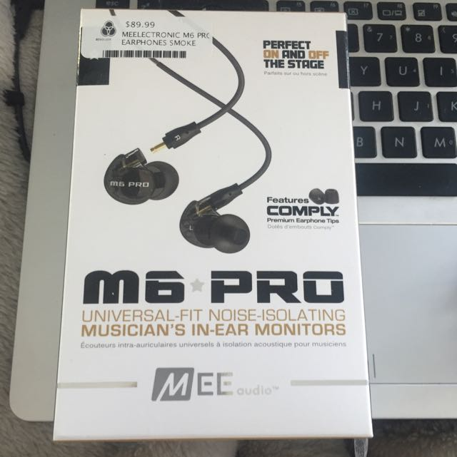 MEE Audio M6 PRO Universal-Fit Noise-Isolation