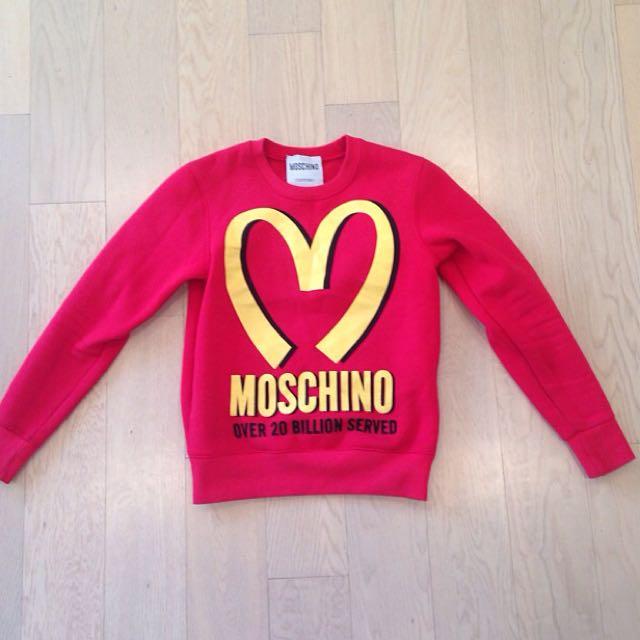 MOSCHINO McDonalds Jumper