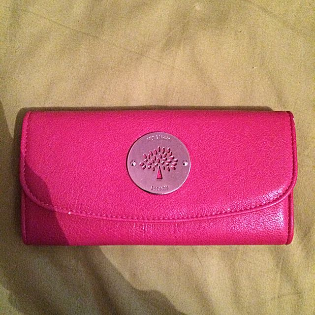 SALE!!!!!😝😝😝Mulberry Purse(pink)