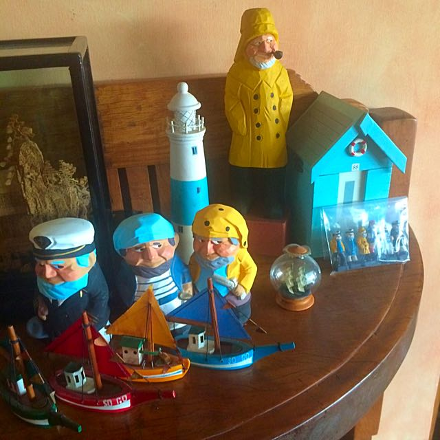 Nautical Collectibles Sailor Boat Boathouse Lighthouse