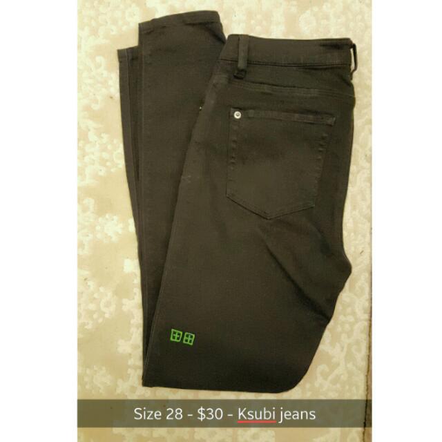 Navy Ksubi Jeans