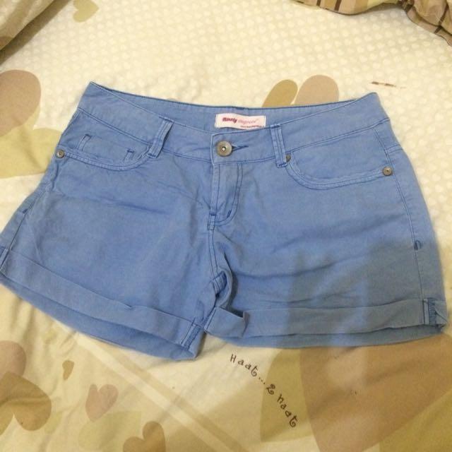 Ninety Degrees Blue Hot Pants