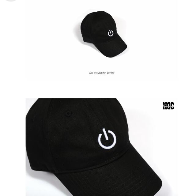 NO COMMENT 2016 S/S ON/OFF Hats 電源開關 棒球帽