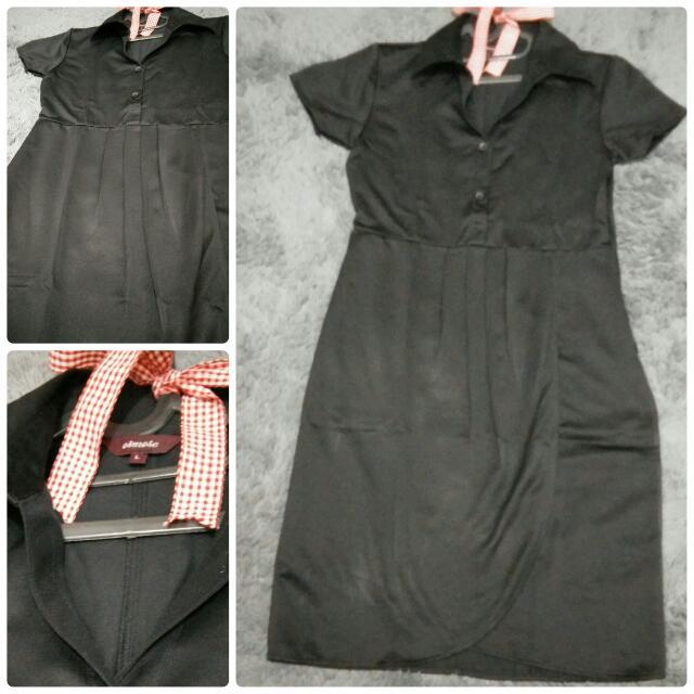 Osmose Black Dress