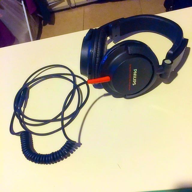 ..:::[**Philips Dynamic Neodymium Drivers On-Ear Headphones**]:::..