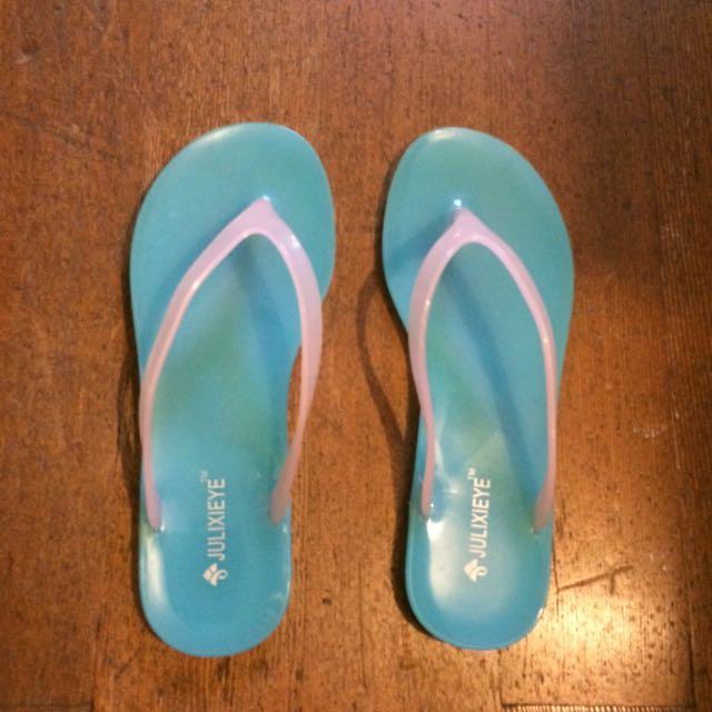 Plastic Flip Flops