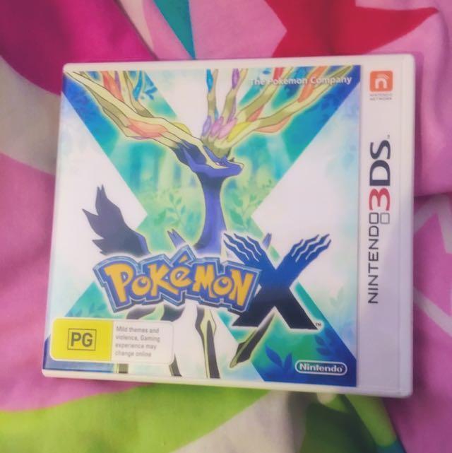 Pokemon X 3DS