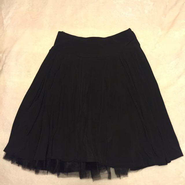 PORTMANS Black Skirt