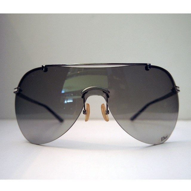 704140d32d PRE-OWNED  Christian DIOR oversized sunglasses