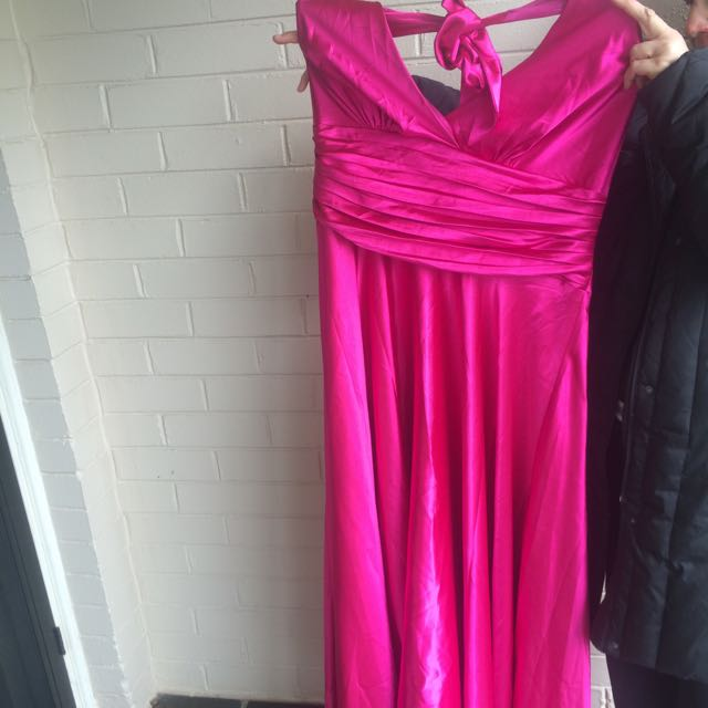 Size 24 Pink Formal Gown