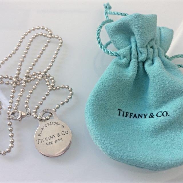 Tiffany & Co Circle Pendant