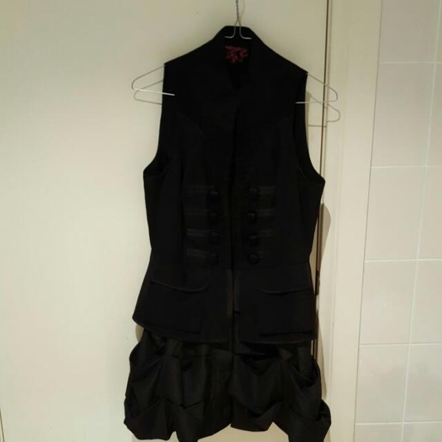 Twelve By Twelve Black Dress Size S/P