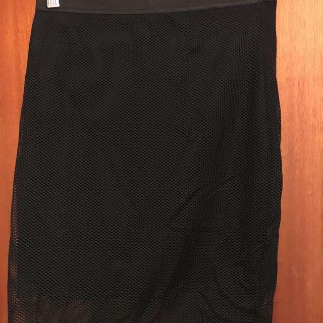 VALLEYGIRL Black Tight Skirt