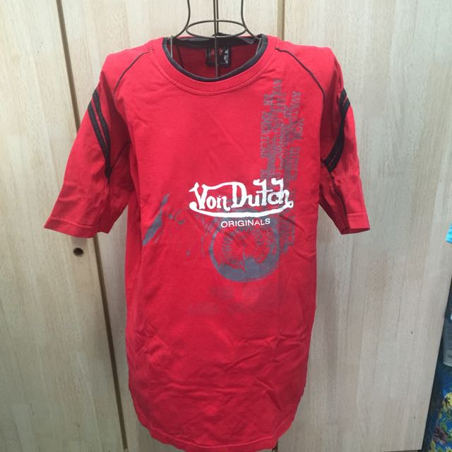 Von Dutch Red Tshirt