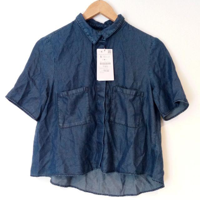 ZARA Z1975 BLUE DENIM SHIRT (BRAND NEW WITH TAG)
