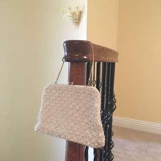古董縫珠包