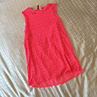 H&M Throw Over Beach Dress, Size XS