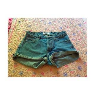High Waisted Shorties (american Apparel)