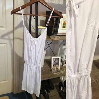 White Cotton On playsuit