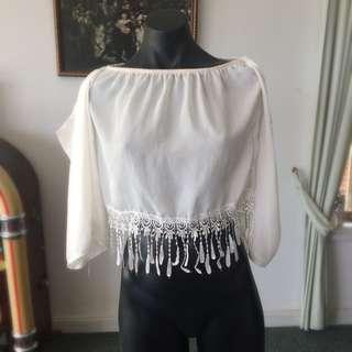White Hippie Shirt