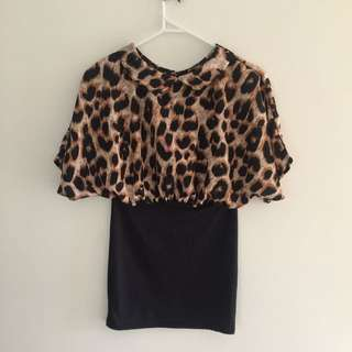 Leopard Dress Size 6
