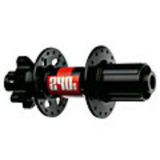 "26"" DT Swiss 240s 6 Bolt Rear and Front Hub  (Free Wheel Set)"