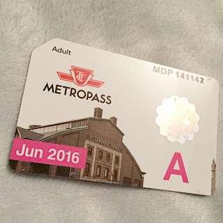 June Metropass